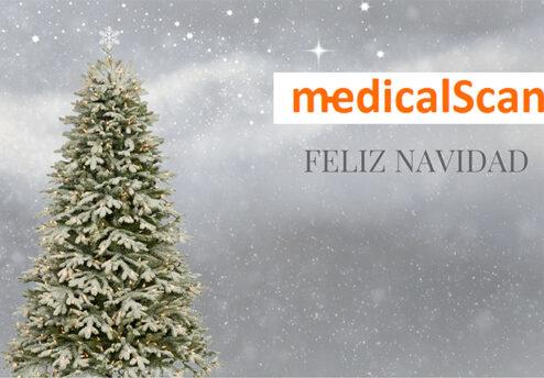 felicitación navideña de medical scan